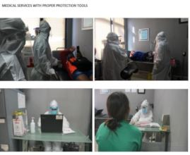 Medical Services Wear Proper Protection Tools