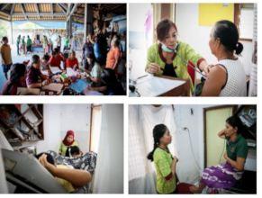 Mobile Clinic at Bontihing Village