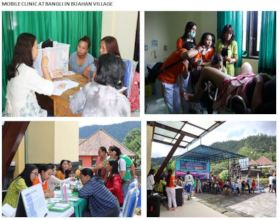 Mobile Clinic at Buahan Village