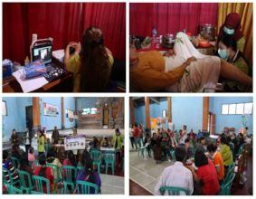Mobile Clinic at Batur Tengah Village