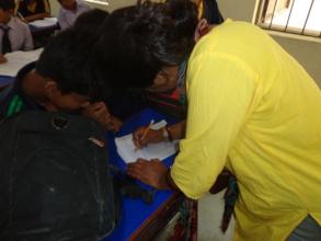 Preparation class for final exam