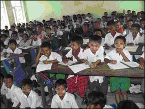 A school in Burma