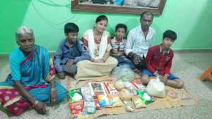 Groceries, Vegetables and Snacks for Families