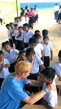 Doing health checks in a rural community school
