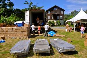Medicine for Haiti and Honduras