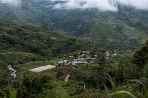 The village of Los Medios
