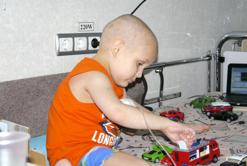 Support Moldovan Children with Cancer