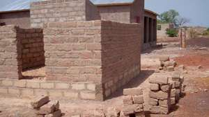 Dispensary construction at dormitory in Senegal