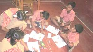 Art and craft workshop for APD children