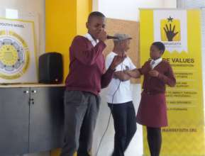 Mphumezo shared on how the programme helped him