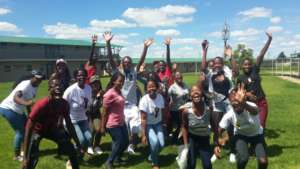 Ivory Park Ikamvites celebrate 100% pass rate