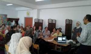Parent meeting at IRODA