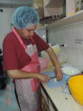 """Working hard at """"Dar Yak Zamin"""" Cafe"""