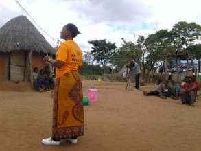 Promotion filmed for MUVI TV, Katete, Zambia