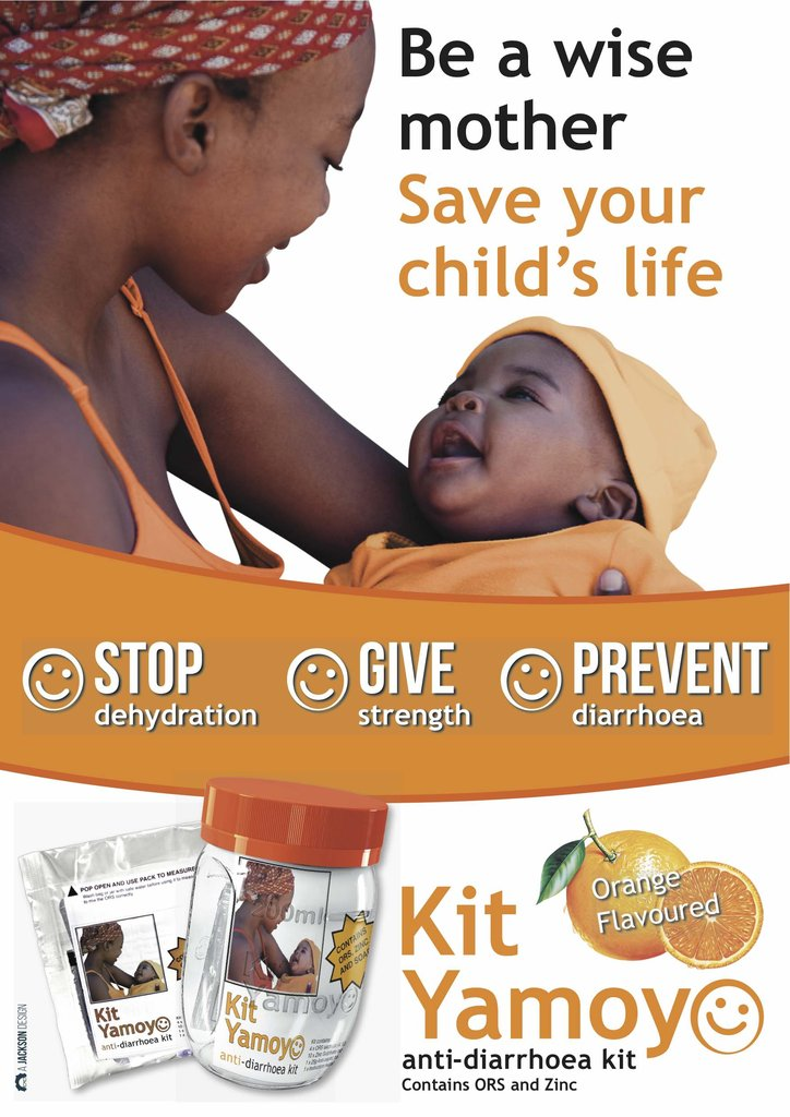 Lifesaving AidPods for 65,000 African children