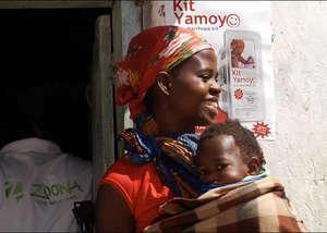 Lifesaving AidPods for 65,000 African children