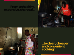 From charcoal to clean and fast electric cooking!