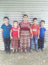 She is one of the single mothers who was supported