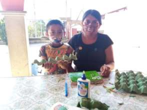Mothers also support activities