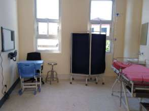 OBGYN consultation room of the new hospital