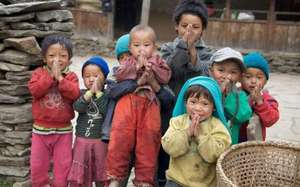 Nepali Children Served by Himalayan Healthcare