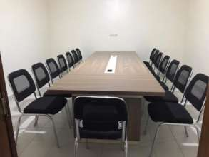 Our new conference room- it's the big leagues now!