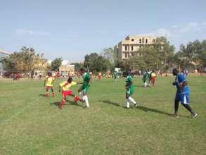 Thies High School Girls' Tournament Match