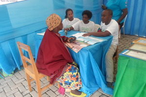 Consultations to vulnerable women of Kamonyi