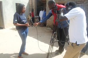 Awareness raising through mass media.