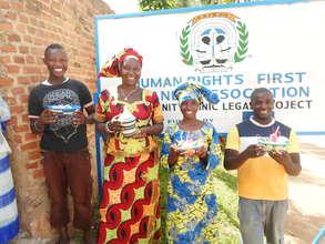 Rwandan H.I.V. Women Basket Weaving Initiative