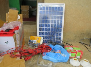 The solar light system to be provided