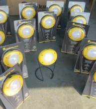 "solar lamp model ""Pico"" ready for distribution"