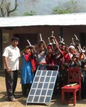 solar tuki along with charger-group