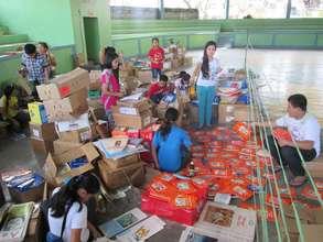 AAi volunteers always cheerful