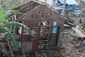 Devastated towns litter landscape of Davao area