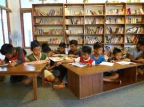 10 minute reading before the Library activities