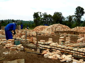 Bricks for the new classrooms