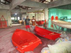Two new boats thanks to the workshop you funded