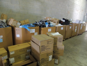 Almost all the gear is ready to ship