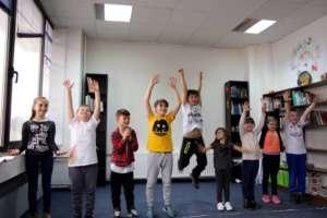 Children acting at CIM