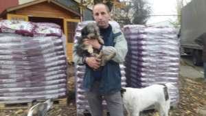 Food for November for Marius shelter dogs