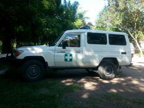 One of the new ambulances!