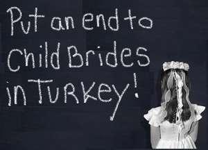 Put an end to child brides in Turkey