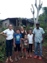 Beatriz and her family.