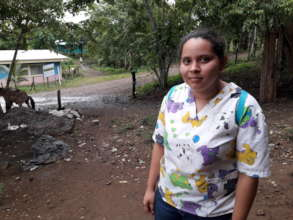 Gilma, the nursing assistant in Caracito
