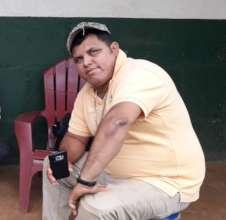 Arle, President of the Las Bellezas CAPS.