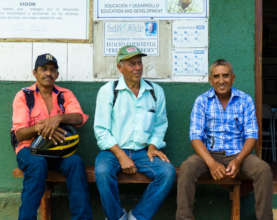CAPS leaders at the Quinta Lidia training center