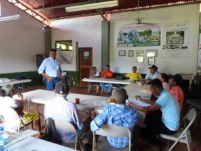 CAPS leaders attending training in Quinta Lidia