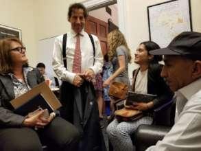 It was great meeting Congressman Jackie Raskin!
