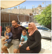 Amal Sumarin with her family